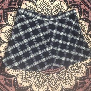 Plaid brandy Melville skirt